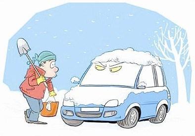 冬季汽车怎样防冻